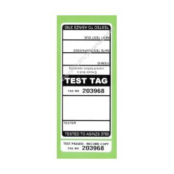 All Purpose Test Tags - Single Colour