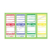 All Purpose Test Tags - Mixed Colour Pack