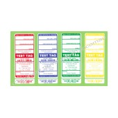 Customised All Purpose Test Tags - Mixed Colour Pack