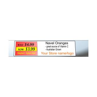 InkJet Datastrip Shelf Ticket Tag Material