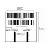 Woolworths Pallet Labels 105x100mm