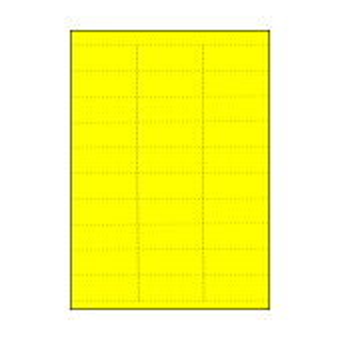 Datastrip Shelf Tickets on Laser Sheets